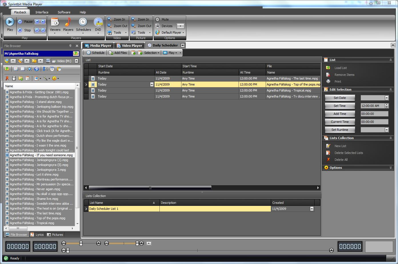 mediaplayer software